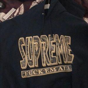 Supreme f rm all hoody